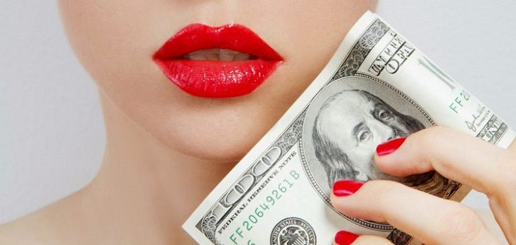 Деньги у лица